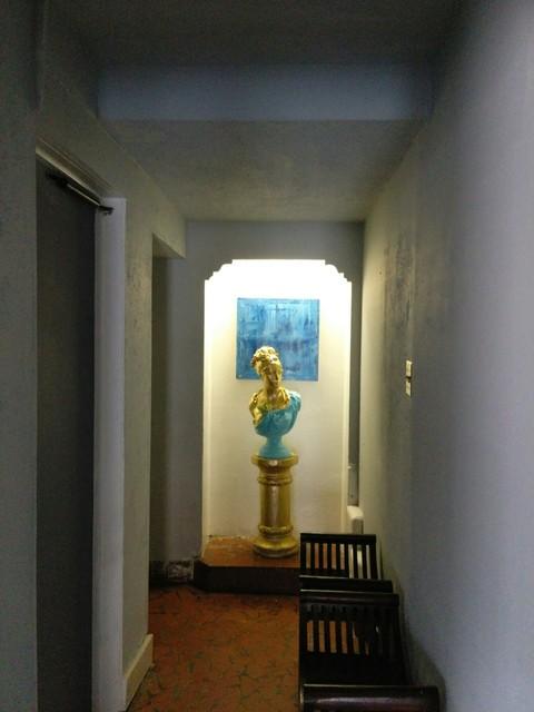 Hallway from Idlewild Theatre building