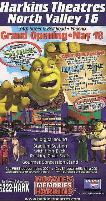 May 18th, 2001 grand opening ad