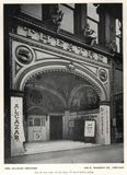 Alcazar Theatre, Madison Street, Chicago IL., 1909