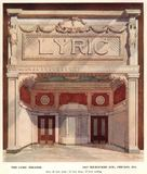 Lyric Theatre, Chicago c1910