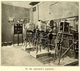 The Picture House, 140 Sauchihall Street, Glasgow 1913 - Projection Room
