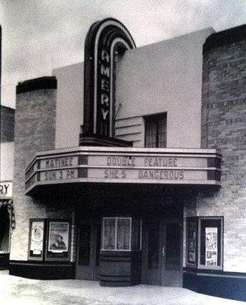 AMERY Theatre; Amery, Wisconsin..