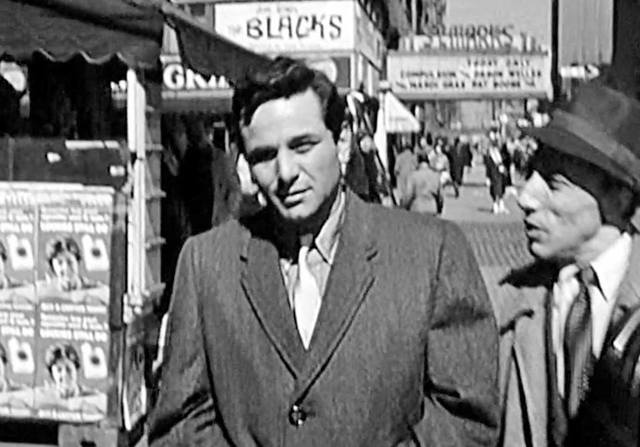 Peter Falk in a scene from TV's