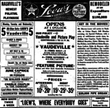 <p>Re-opened as Loew's Vendome on March 22nd, 1920</p>