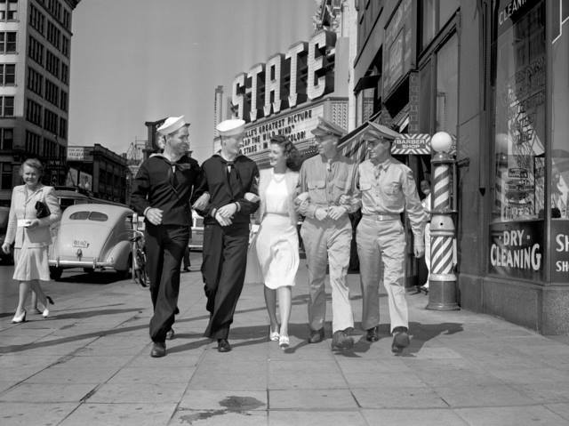 1942 photo courtesy of Alan Freed.