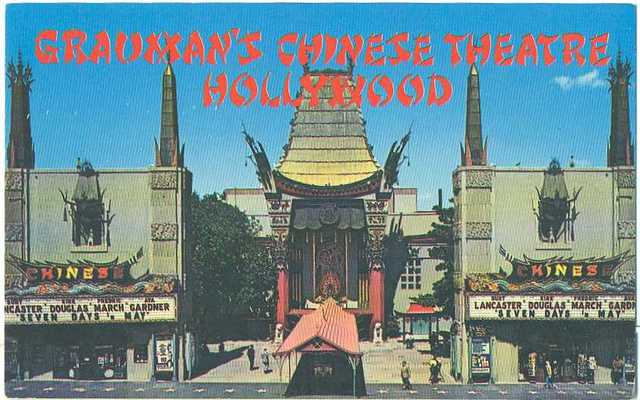 "Chinese Theatre ""Seven Days in May"" engagement"