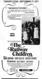 "AD FOR ""THE RAILWAY CHILDREN"" - ODEON HYLAND THEATRE"