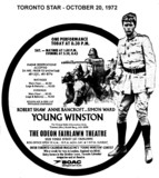 "AD FOR ""YOUNG WINSTON"" - ODEON FAIRLAWN THEATRE"