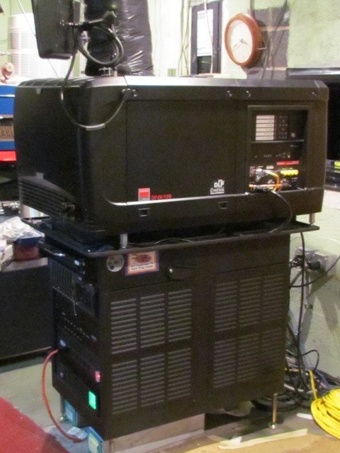 New Barco 4K Projector