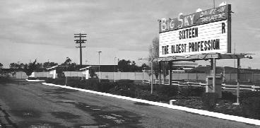 Big Sky marquee 1967