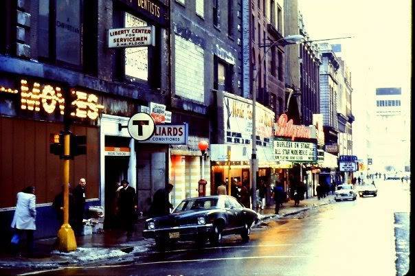 Circa 1973 photo courtesy of the Dirty Old Boston Facebook page.