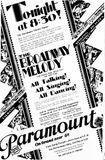 May 10th, 1929 grand opening ad as Paramount
