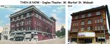 1910 postcard & 2013 photo courtesy of the Wabash Memories Facebook page.