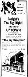 October 31st, 1935 grand opening ad as Uptown