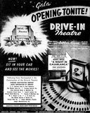 May 14th, 1948 grand opening ad as Drive-In