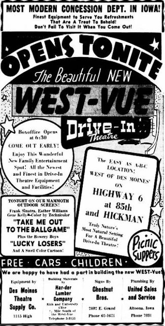 June 1st, 1951 grand opening ad