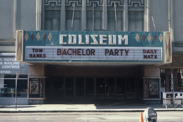 Coliseum Marquee