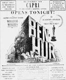 November 10th, 1960 grand opening ad