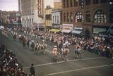 Roy Rogers & Dale Evans parade in the `50's, photo courtesy of Hank-William Buelow.