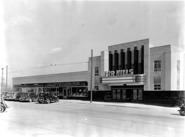 Far Hills Theater  under construction