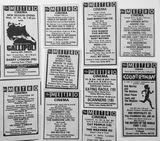 Derby Metro Cinema Press Ads
