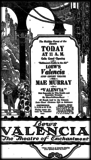 <p>Grand opening ad, Christmas Eve, 12/24/1926</p>