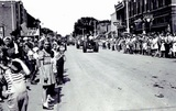 Parade, 1954.  Charles Theatre on left...