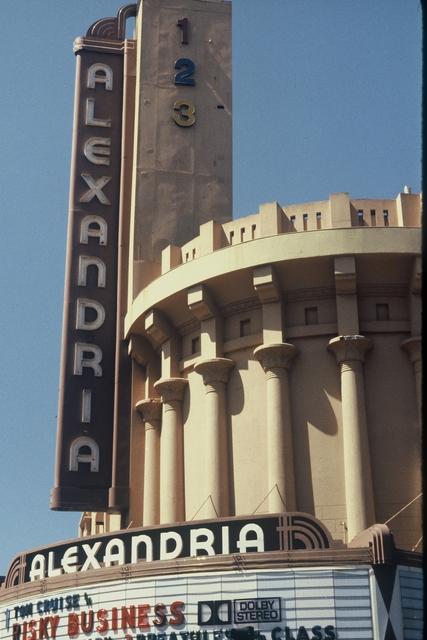 Alexandria Exterior, 1980s