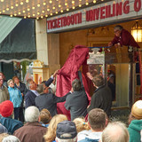 Lansdowne Theater Ticketbooth restored and unveiled