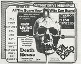Newspaper Ad for Movies at the Skyway