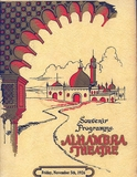 Alhambra Theatre (1926) opening night program