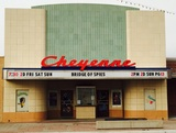 Cheyenne Theatre - St. Francis KS 12-5-2015