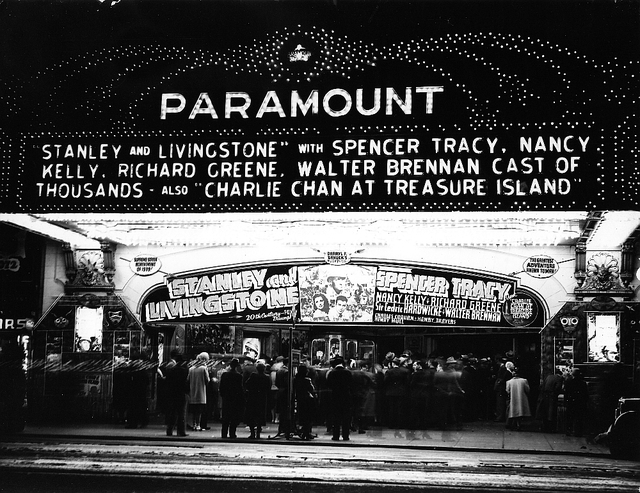 "Paramount Theatre ""Stanley and Livingstone"" (1939) engagement"