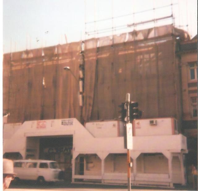Sydney Barclay - The demolition underway
