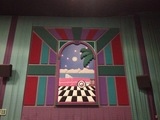 """Theater 14 Mural - """"Cadillac"""" (Left Wall)"""