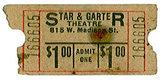 STAR AND GARTER Theatre; Chicago, Illinois.