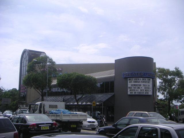 Greater Union Mosman Cinemas