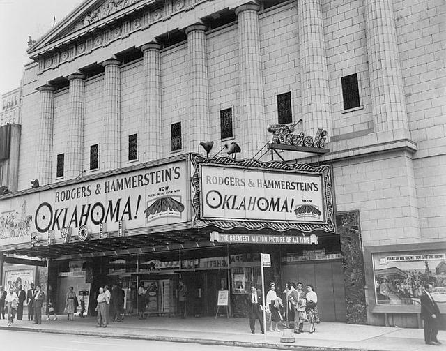 "Rivoli Theatre ""Oklahoma"" engagement"