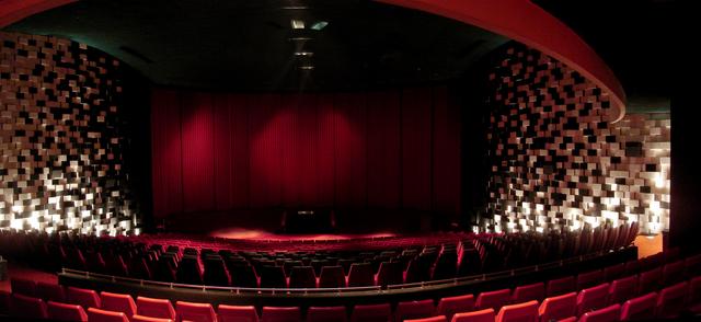 Cinerama Auditorium facing screen