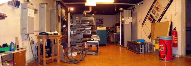 Cinerama Projection Booth, other side