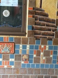 Detail of tile work (2 of 2)