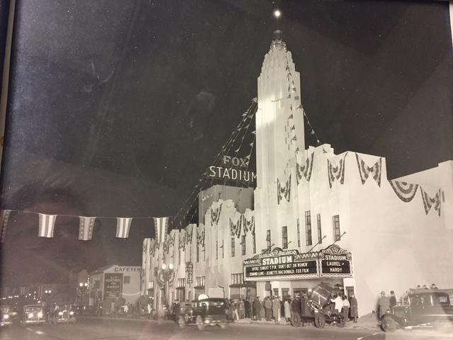 Fox Stadium Theater Grand Opening ?