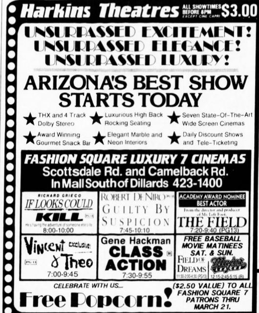 March 15th, 1991 grand opening ad