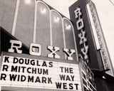 Marquee during opening week