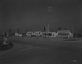 1952 photo of the land before the Sheridan Drive-In was built.