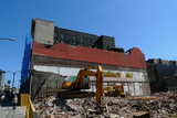 The Pantages Under Demolition