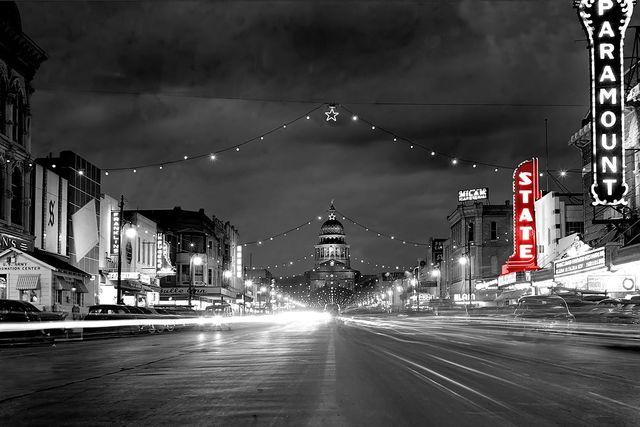 Crisper version of the 1947 photo, original photo credit Neal Douglass.