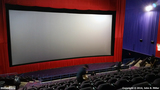 <p>The 70-foot-wide Mega Screen. Seats 550 people, I believe. The auditorium has two 4K projectors, which are used in tandem for 3D movies.</p>