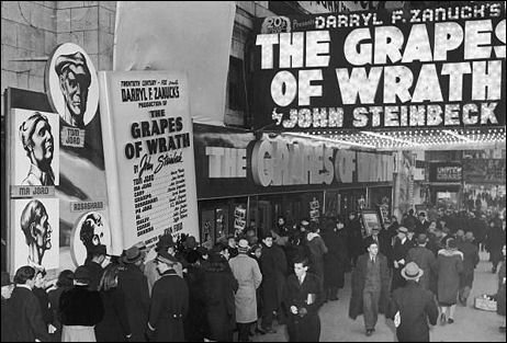 "Rivoli Theatre ""The Grapes of Wrath"" engagement"