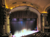 <p>Taken 2009.  The proscenium has some very elaborate ornamentation.</p>